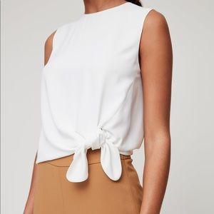 Babaton Hopkins Blouse in White Size XS